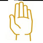 left hand orange